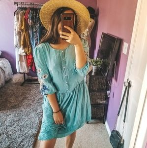 Baby doll free people dress